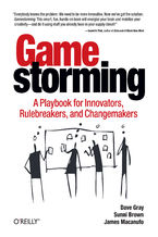 Okładka książki Gamestorming. A Playbook for Innovators, Rulebreakers, and Changemakers