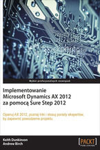 Okładka książki Implementowanie Microsoft Dynamics AX 2012 za pomocą Sure Step 2012