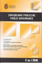 Zarządzanie Publiczne nr 2(36)/2016