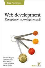 Okładka książki Web development. Receptury nowej generacji