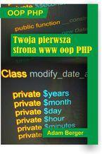 Okładka książki Twoja pierwsza strona www oop php