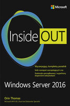 Okładka książki Windows Server 2016. Inside Out