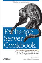 Okładka książki Exchange Server Cookbook. For Exchange Server 2003 and Exchange 2000 Server