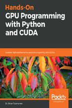 Okładka książki Hands-On GPU Programming with Python and CUDA