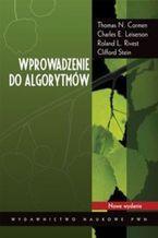 Okładka książki Wprowadzenie do algorytmów