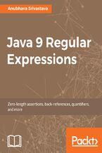 Okładka książki Java 9 Regular Expressions