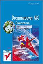 Okładka książki Dreamweaver MX. Ćwiczenia