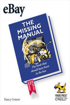 Okładka książki eBay: The Missing Manual. The Missing Manual