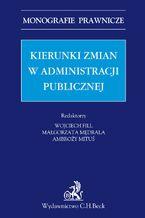 Kierunki zmian w administracji publicznej