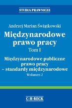 Międzynarodowe prawo pracy. Tom I Międzynarodowe publiczne prawo pracy - standardy międzynarodowe. Wolumen 2