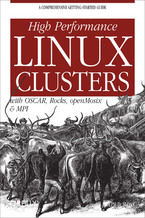 Okładka książki High Performance Linux Clusters with OSCAR, Rocks, OpenMosix, and MPI