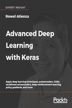 Okładka książki Advanced Deep Learning with Keras