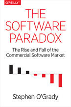 Okładka książki The Software Paradox. The Rise and Fall of the Commercial Software Market
