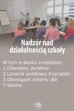Nadzór nad działalnością szkoły, wydanie marzec-kwiecień 2016 r