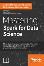 Okładka książki Mastering Spark for Data Science