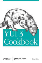 Okładka książki YUI 3 Cookbook