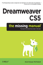 Okładka książki Dreamweaver CS5: The Missing Manual