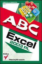 Okładka książki ABC Excel 2003 PL
