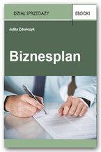 Okładka książki Biznesplan