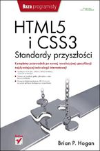 Okładka książki HTML5 i CSS3. Standardy przyszłości