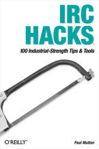 Okładka książki IRC Hacks. 100 Industrial-Strength Tips & Tools
