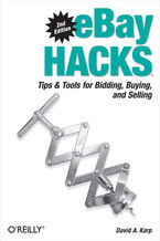 Okładka książki eBay Hacks. Tips & Tools for Bidding, Buying, and Selling. 2nd Edition