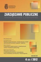 Zarządzanie Publiczne nr 4(22)/2012 - Grażyna Piechota: Zarządzanie procesem komunikowania w mediach społecznościowych przez miasta Metropolii Silesia i ich prezydentów