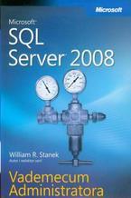 Okładka książki Microsoft SQL Server 2008 Vademecum Administratora