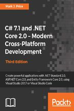 Okładka książki C# 7.1 and .NET Core 2.0  Modern Cross-Platform Development - Third Edition