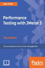Okładka książki Performance Testing with JMeter 3 - Third Edition