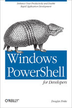 Okładka książki Windows PowerShell for Developers. Enhance Your Productivity and Enable Rapid Application Development
