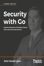 Okładka książki Security with Go