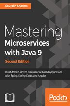 Okładka książki Mastering Microservices with Java 9 - Second Edition