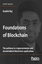 Okładka książki Foundations of Blockchain