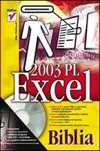 Okładka książki Excel 2003 PL. Biblia