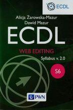 Okładka książki ECDL Web editing Syllabus v. 2.0. S6