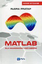 Okładka książki Matlab dla naukowców i inżynierów