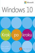 Okładka książki Windows 10 Krok po kroku