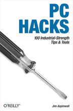 Okładka książki PC Hacks. 100 Industrial-Strength Tips & Tools