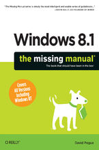 Okładka książki Windows 8.1: The Missing Manual