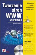 Okładka książki Tworzenie stron WWW w praktyce
