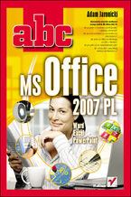 Okładka książki ABC MS Office 2007 PL