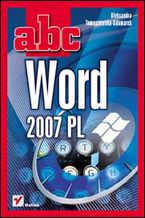 Okładka książki ABC Word 2007 PL