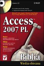 Okładka książki Access 2007 PL. Biblia