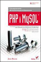 Okładka książki PHP i MySQL. 8 komponentów dla kreatywnych webmasterów