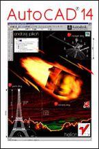 Okładka książki AutoCAD 14 dla Windows