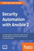 Okładka książki Security Automation with Ansible 2