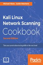 Okładka książki Kali Linux Network Scanning Cookbook - Second Edition