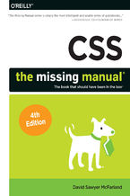 Okładka książki CSS: The Missing Manual. 4th Edition
