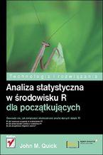 Okładka książki Analiza statystyczna w środowisku R dla początkujących